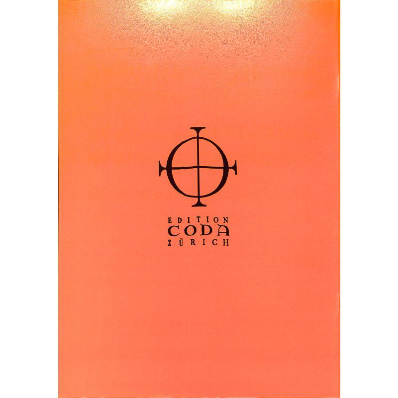 Notenbild für CODA 8006 - ZUR WEIHNACHT