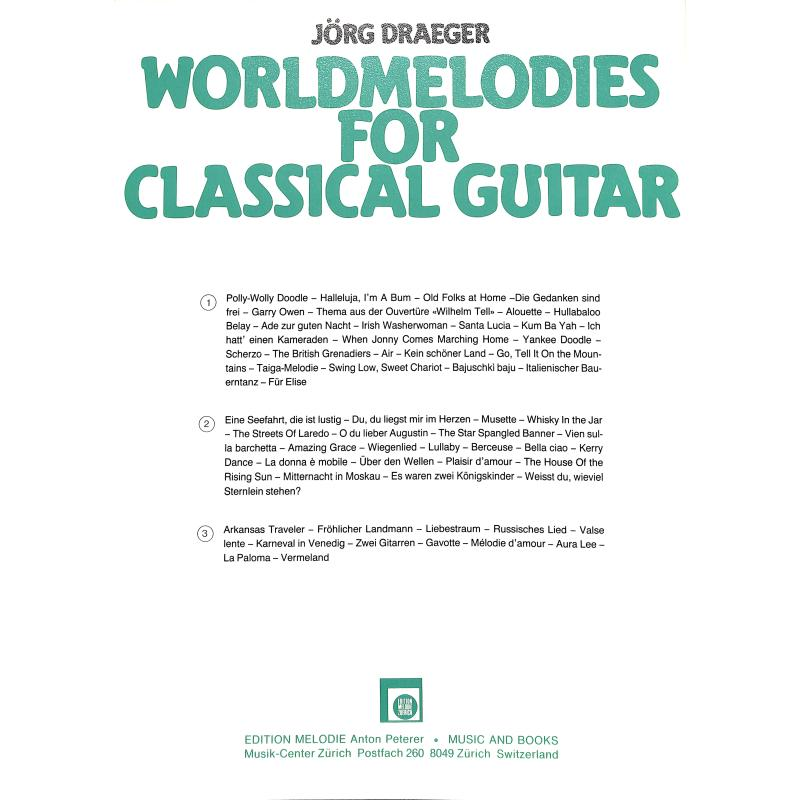 Notenbild für EMZ 2107428 - WORLDMELODIES 2