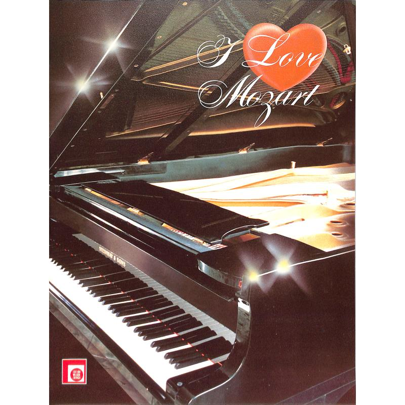 Titelbild für EMZ 2107488 - I LOVE MOZART