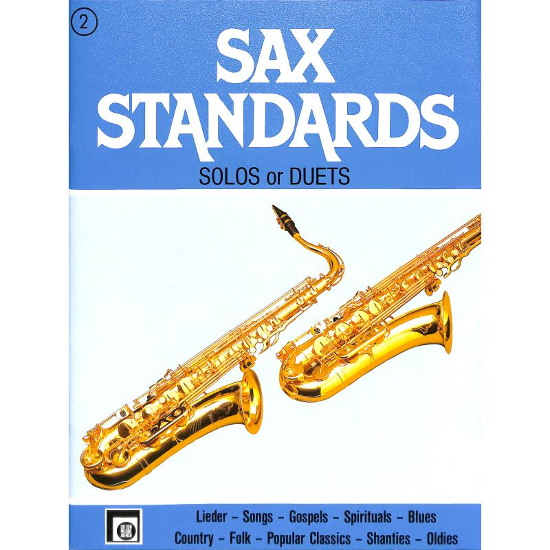 Titelbild für EMZ 2107562 - SAX STANDARDS 2