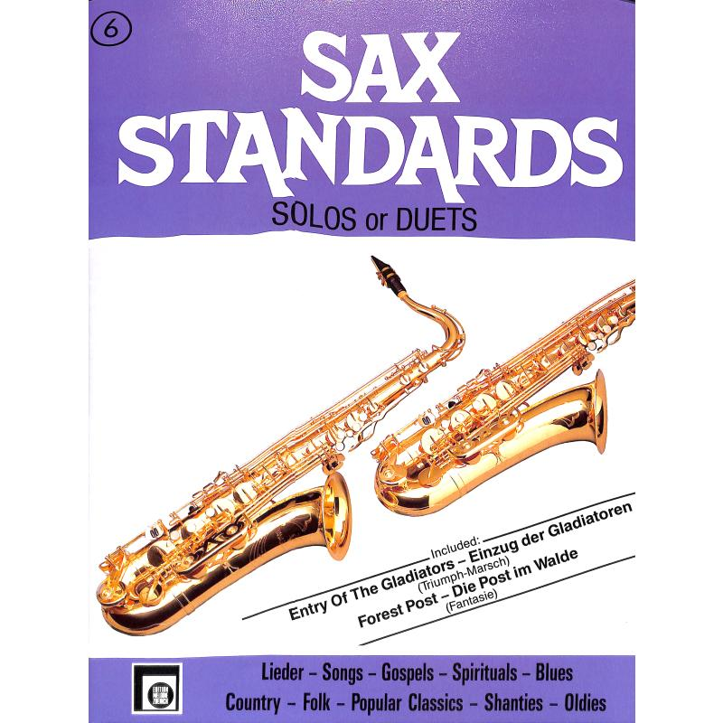 Titelbild für EMZ 2107591 - SAX STANDARDS 6