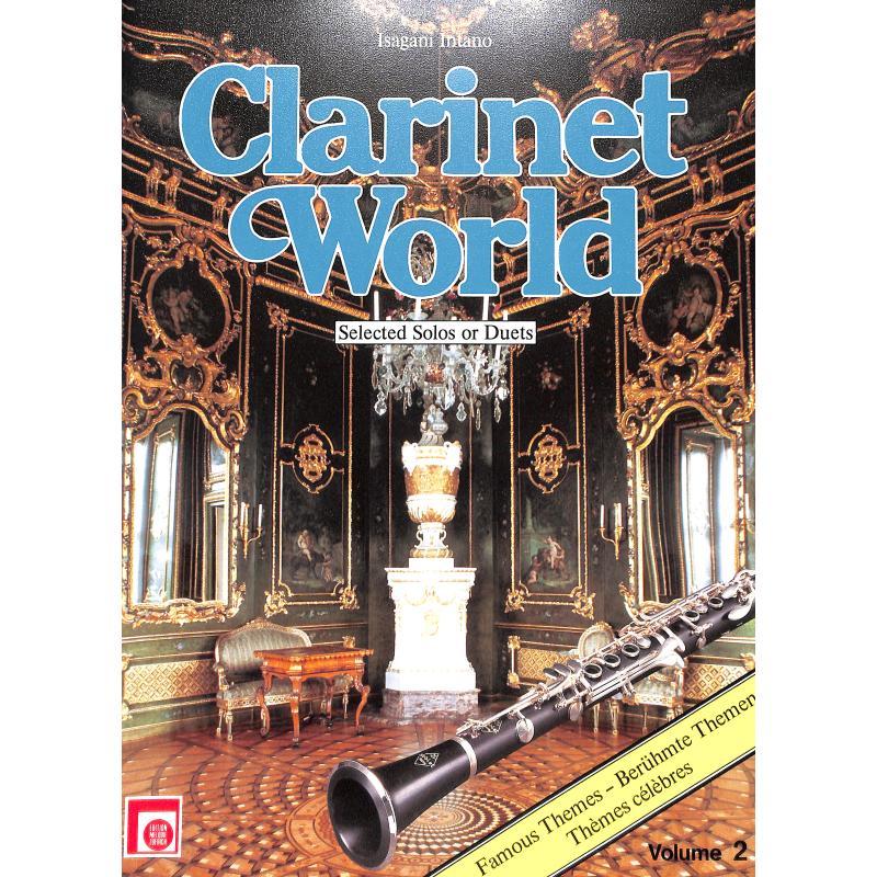Titelbild für EMZ 2107602 - CLARINET WORLD 2