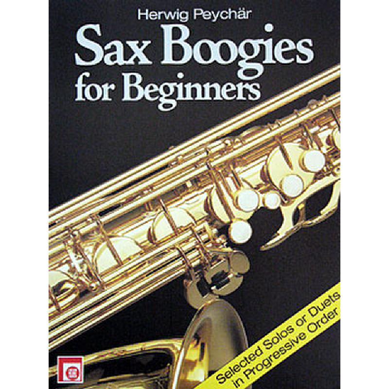 Titelbild für EMZ 2107648 - SAX BOOGIES FOR BEGINNERS