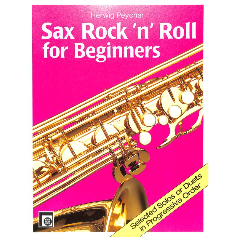 Titelbild für EMZ 2107672 - SAX ROCK'N ROLL FOR BEGINNERS