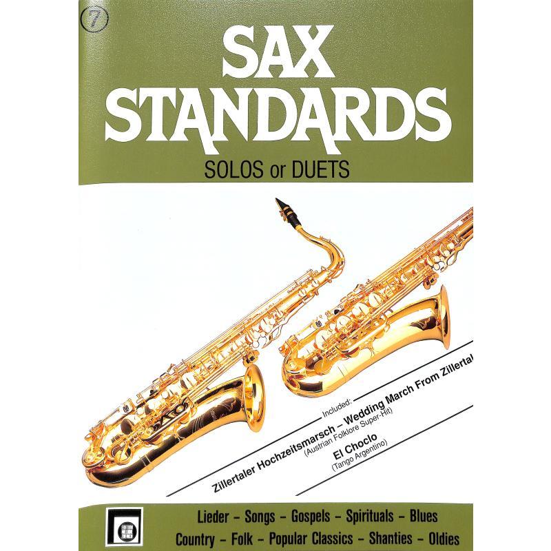 Titelbild für EMZ 2107681 - SAX STANDARDS 7