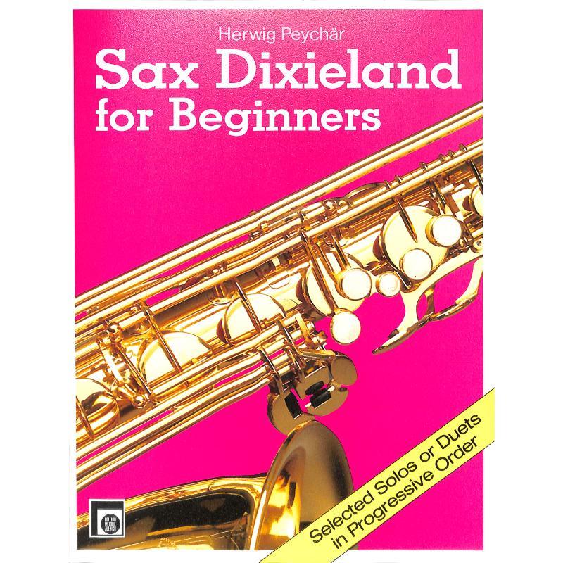 Titelbild für EMZ 2107684 - SAX DIXIELAND FOR BEGINNERS