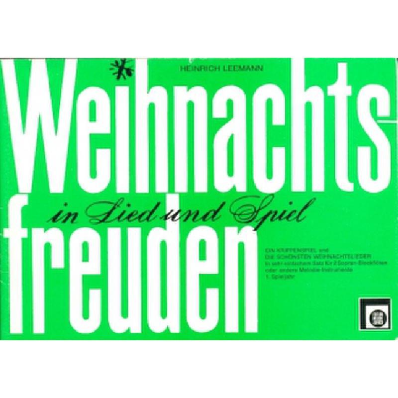 Titelbild für EMZ 2150063 - WEIHNACHTSFREUDEN IN LIED + SPIEL