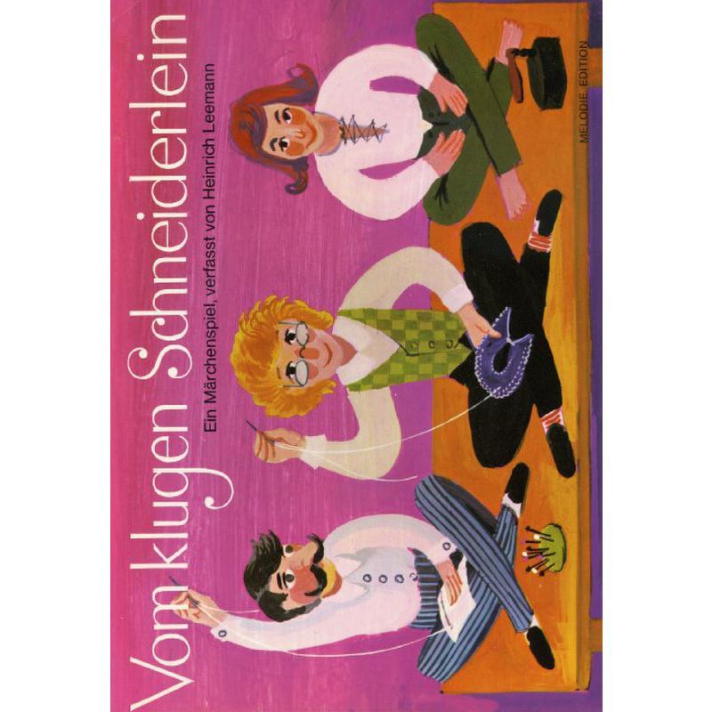 Titelbild für EMZ 2150192 - VOM KLUGEN SCHNEIDERLEIN - MAERCHENSPIEL