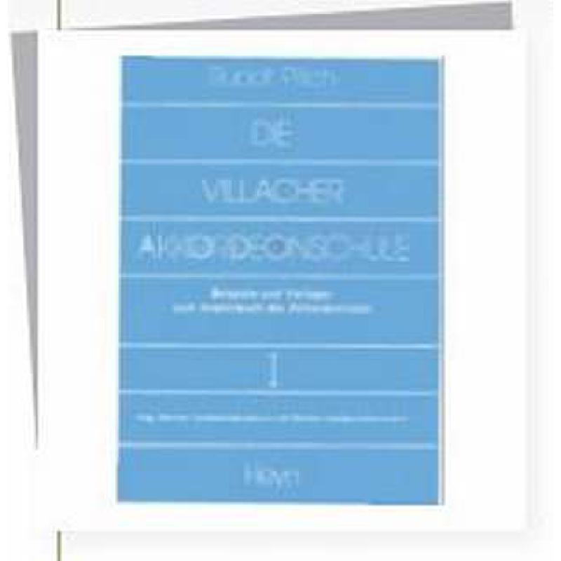 Titelbild für HEYN 671-X - VILLACHER AKKORDEON SCHULE 1