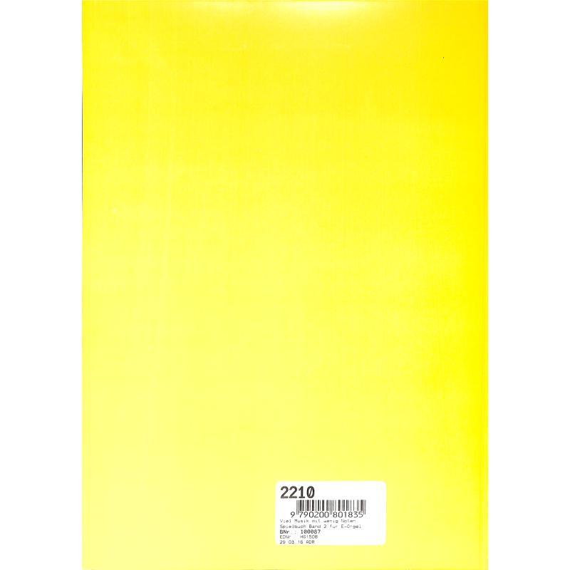 Notenbild für HG 1508 - VIEL MUSIK MIT WENIG NOTEN - SPIELBUCH 2