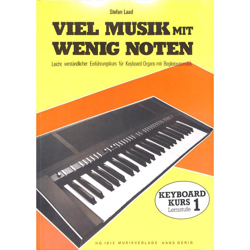 Titelbild für HG 1612 - VIEL MUSIK MIT WENIG NOTEN - LERNSTUFE 1
