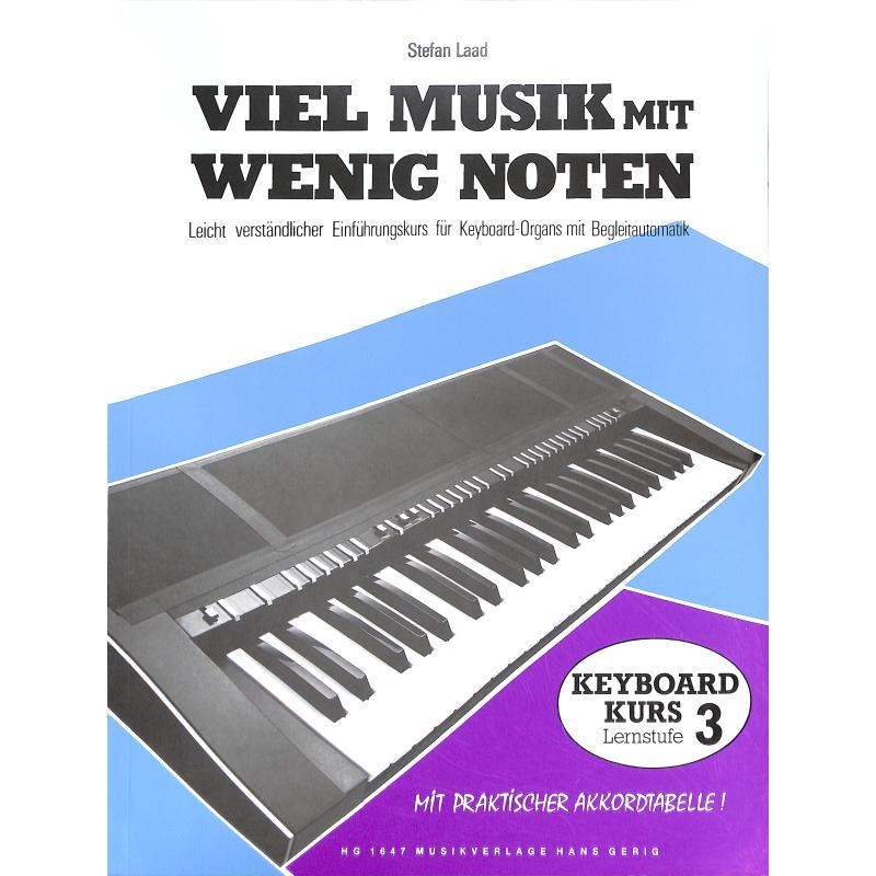 Titelbild für HG 1647 - VIEL MUSIK MIT WENIG NOTEN - LERNSTUFE 3