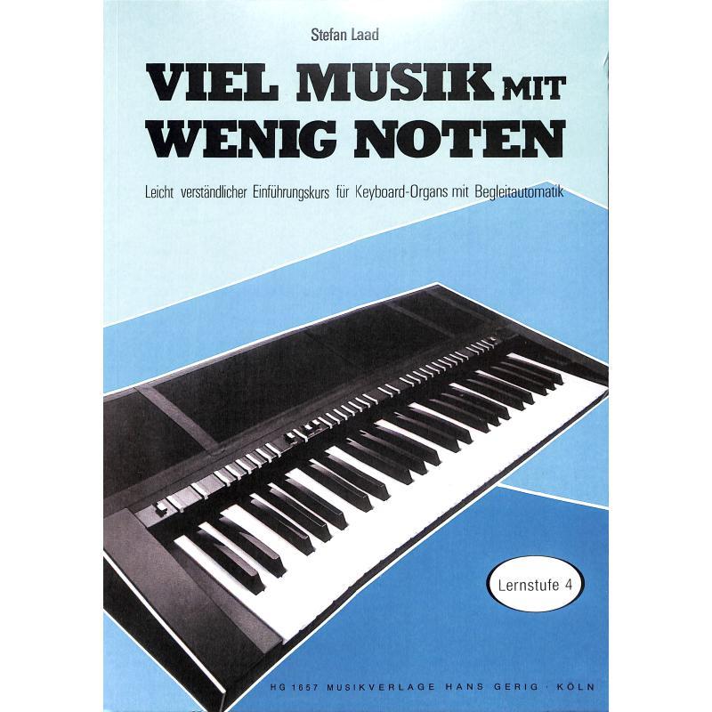 Titelbild für HG 1657 - VIEL MUSIK MIT WENIG NOTEN - LERNSTUFE 4