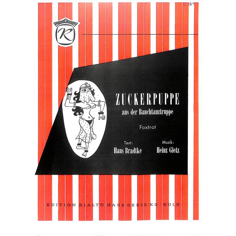 Titelbild für HGR 539 - ZUCKERPUPPE AUS DER BAUCHTANZGRUPPE