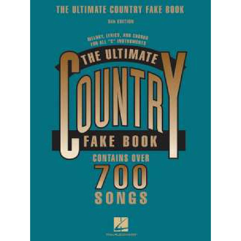 Titelbild für HL 240049 - ULTIMATE COUNTRY FAKE BOOK