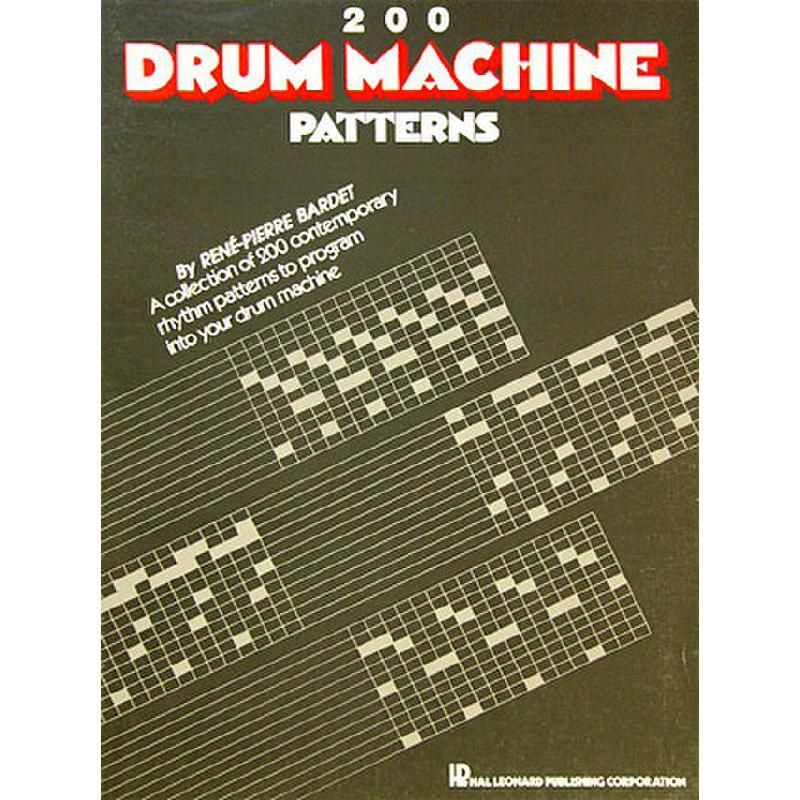 Titelbild für HL 657370 - 200 DRUM MACHINE PATTERNS 1