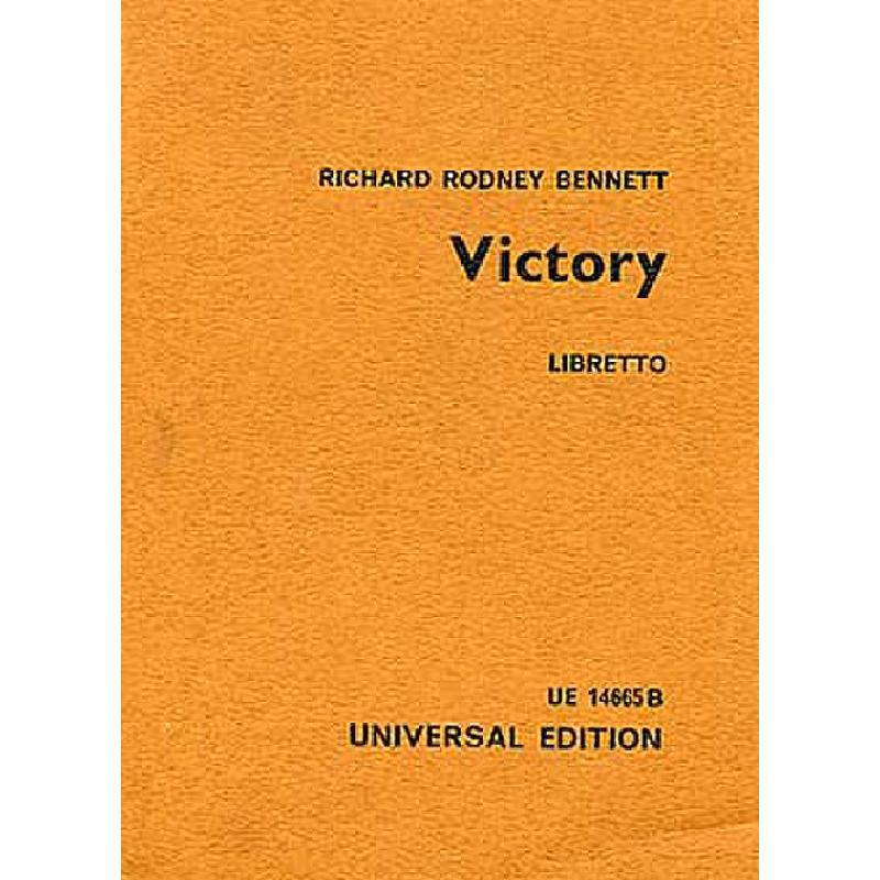 Titelbild für UE 14665B - VICTORY