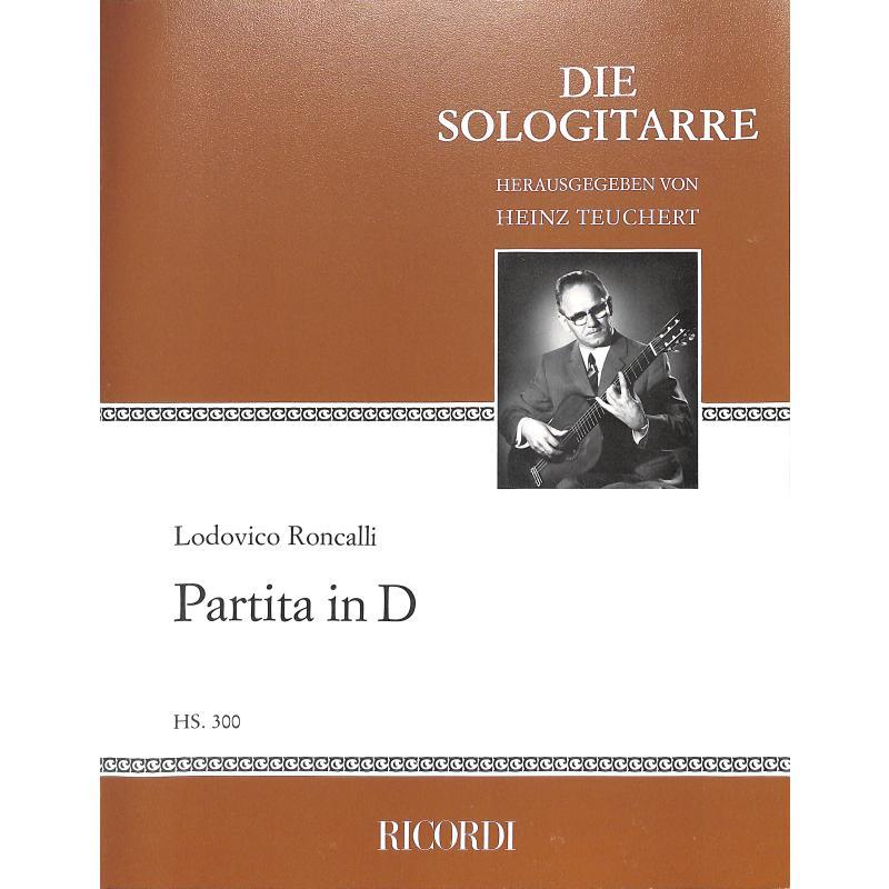 Titelbild für HS 300 - PARTITA IN D