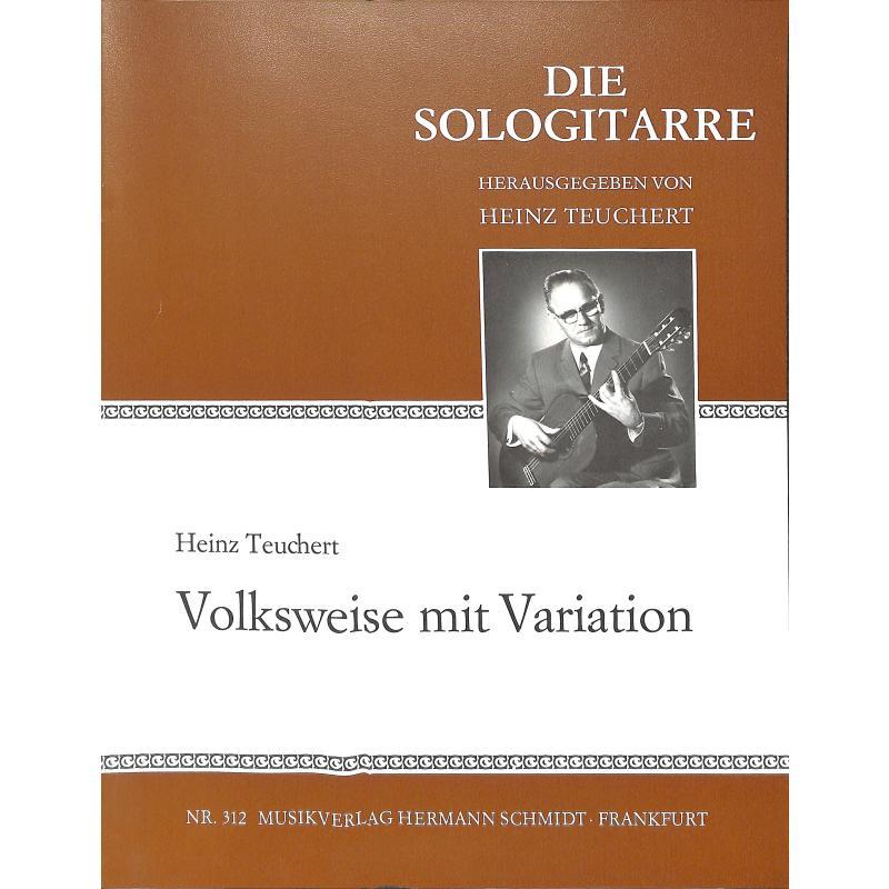 Titelbild für HS 312 - VOLKSWEISE MIT VARIATION
