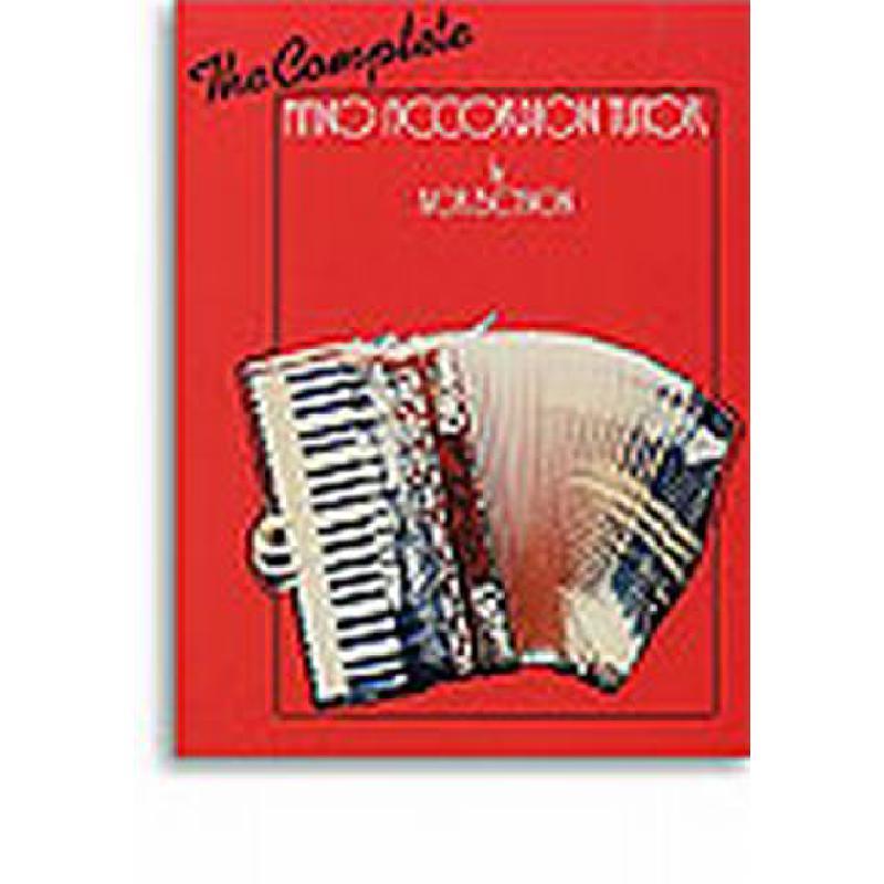 Titelbild für ISBN 0-571-52659-4 - THE COMPLETE PIANO ACCORDION TUTOR