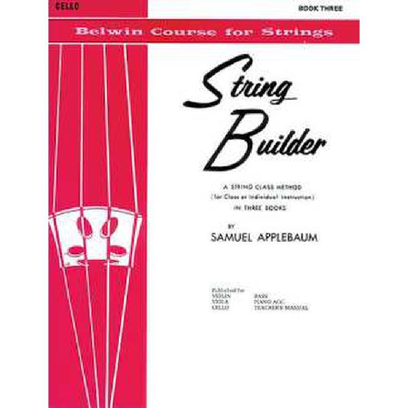 Titelbild für EL 01558 - STRING BUILDER 3