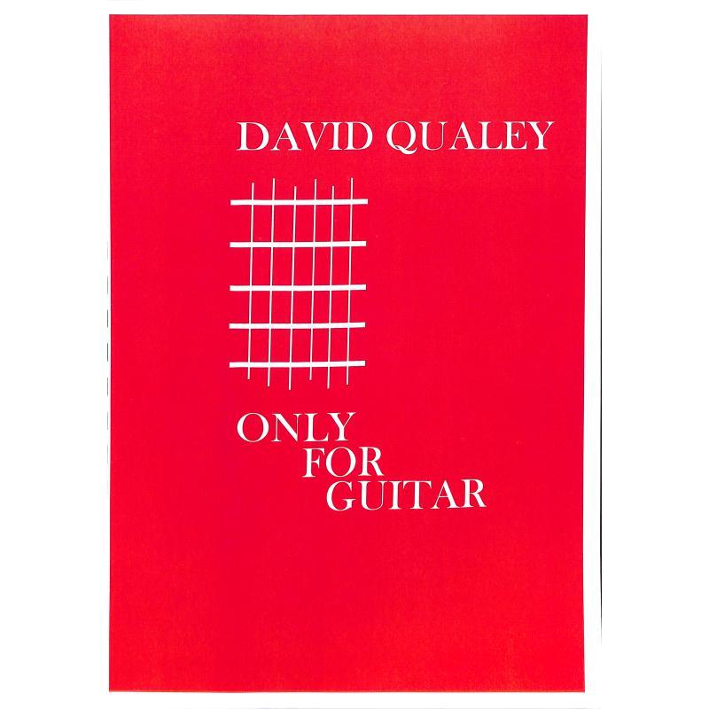 Titelbild für DQ 1055 - ONLY FOR GUITAR