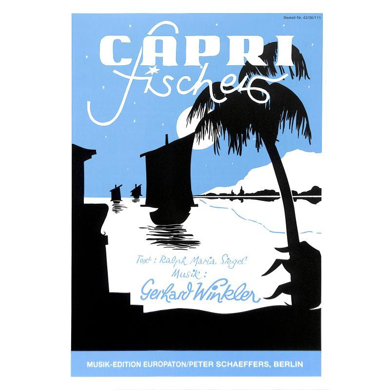 Titelbild für INTRO 4336111 - CAPRI FISCHER - LIED + TANGO SERENADE
