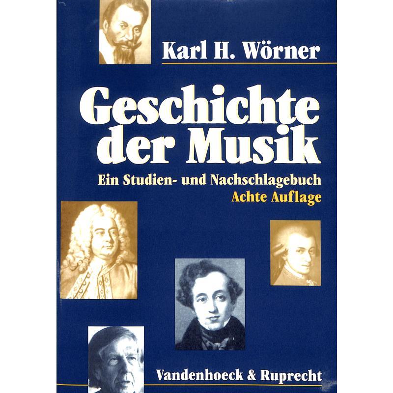 Titelbild für 978-3-525-27812-3 - GESCHICHTE DER MUSIK