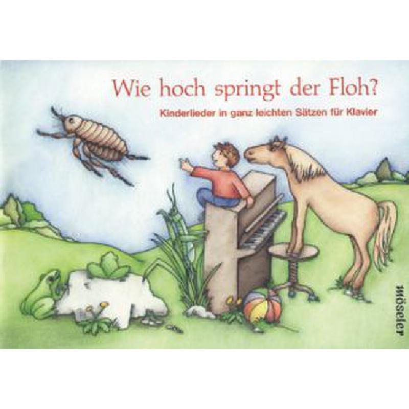 Titelbild für M 18606 - WIE HOCH SPRINGT DER FLOH
