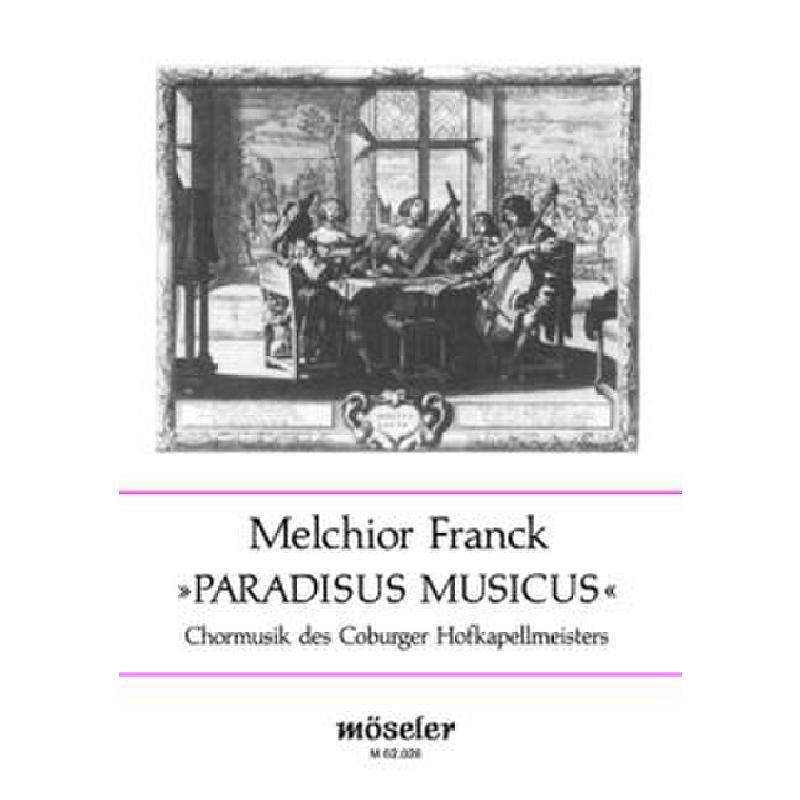 Titelbild für M 62026 - PARADISUS MUSICUS