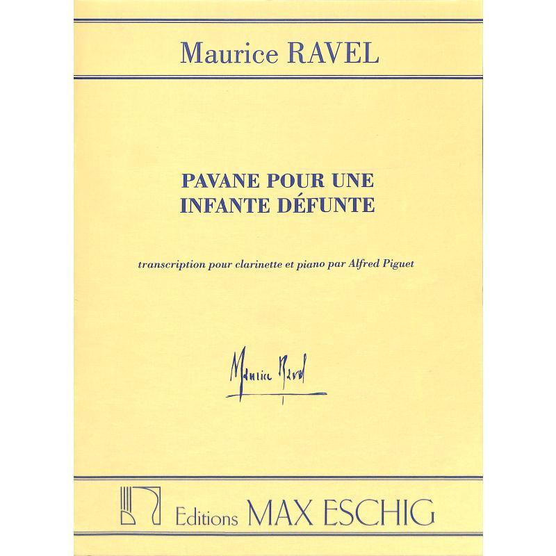 Titelbild für ME 1463-06 - PAVANE POUR UNE INFANTE DEFUNTE