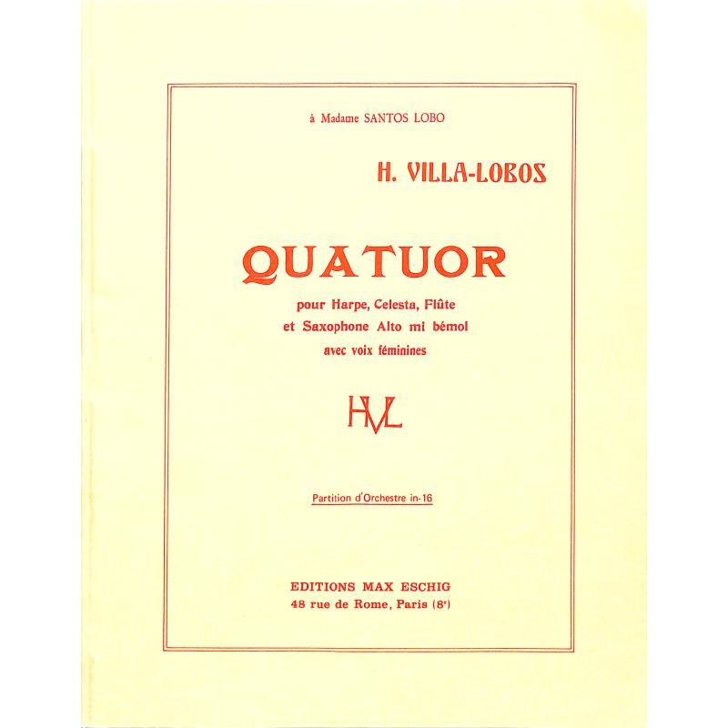 Titelbild für ME 2774 - QUATUOR
