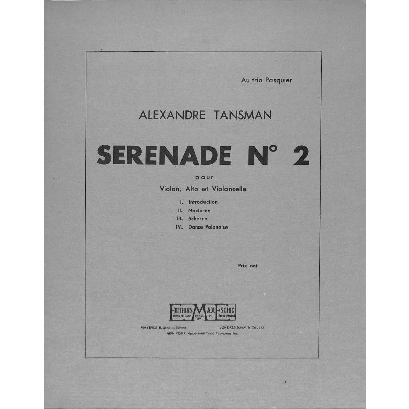 Titelbild für ME 5496 - SERENADE 2