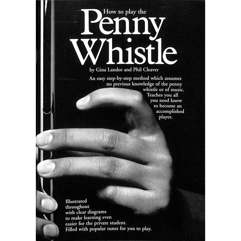 Titelbild für MSAM 27137 - HOW TO PLAY THE PENNY WHISTLE