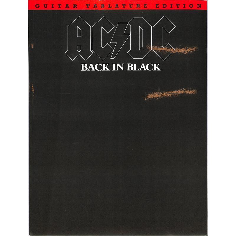 Titelbild für MSAM 83056 - BACK IN BLACK