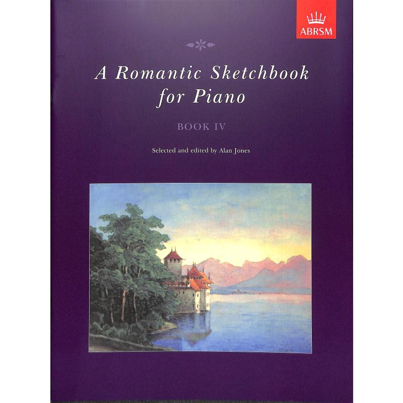 Titelbild für 978-1-85472-718-3 - A romantic sketchbook 4