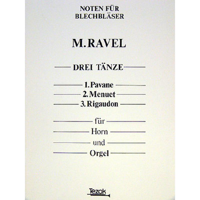 Titelbild für MT 1023 - 3 TAENZE