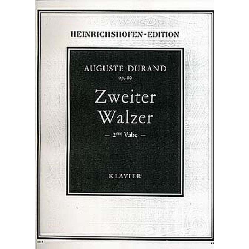 Titelbild für N 1027 - WALZER 2 AS-DUR OP 86