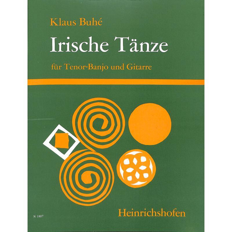 Titelbild für N 1807 - IRISCHE TAENZE