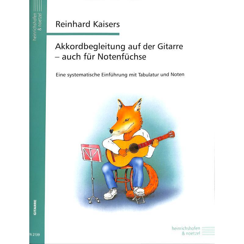 Produktinformationen zu AKKORDBEGLEITUNG AUF DER GITARRE N 2139