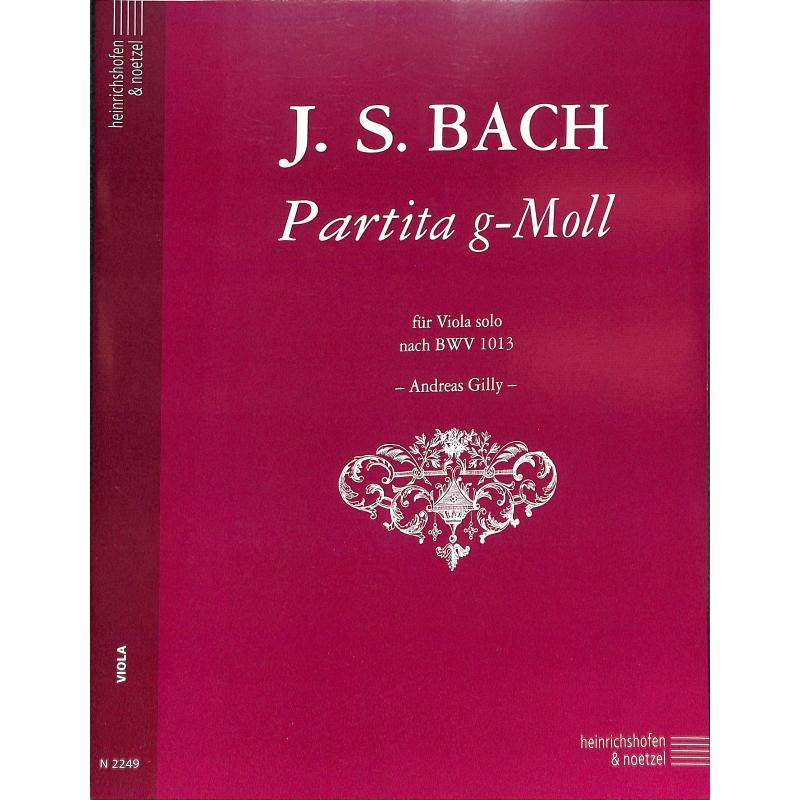 Titelbild für N 2249 - PARTITA G-MOLL NACH BWV 1013