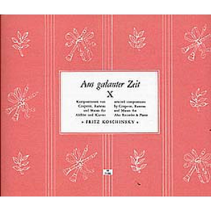 Titelbild für N 3166 - AUS GALANTER ZEIT