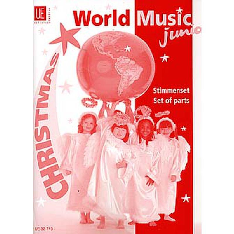 Titelbild für UE 32713 - WORLD MUSIC JUNIOR - CHRISTMAS