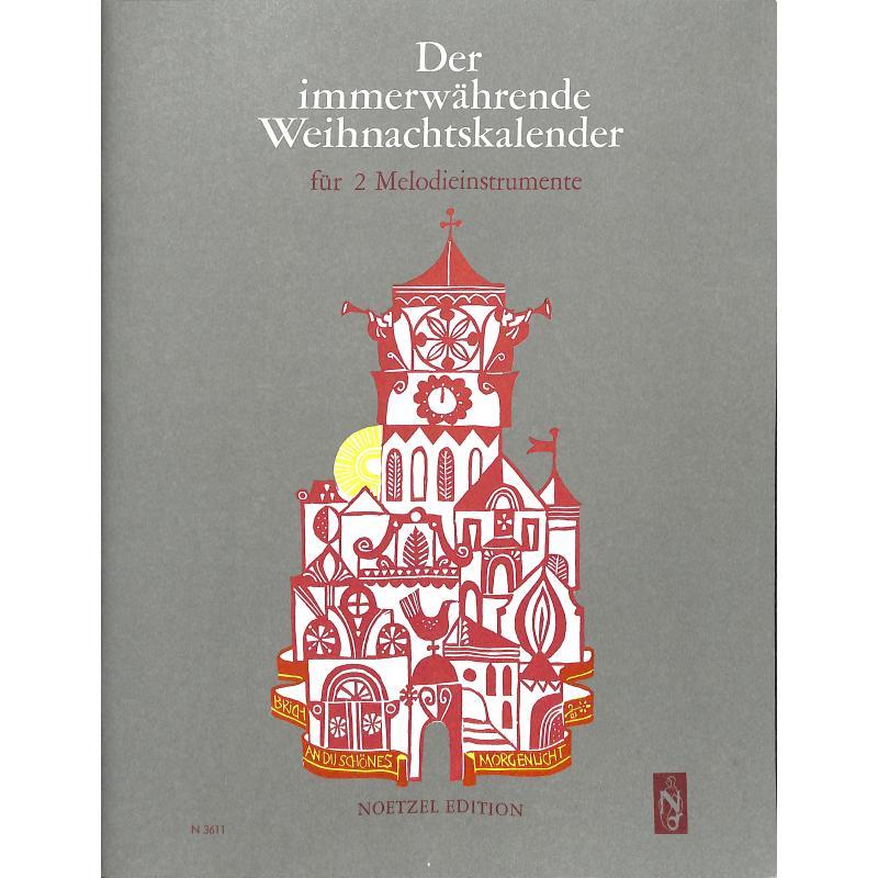 Titelbild für N 3611B - DER IMMERWAEHRENDE WEIHNACHTSKALENDER