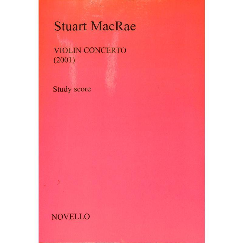 Titelbild für MSNOV 90915 - VIOLIN CONCERTO (2001)