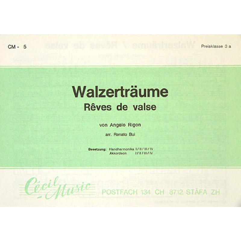 Titelbild für WILD -CM05D - WALZERTRAEUME