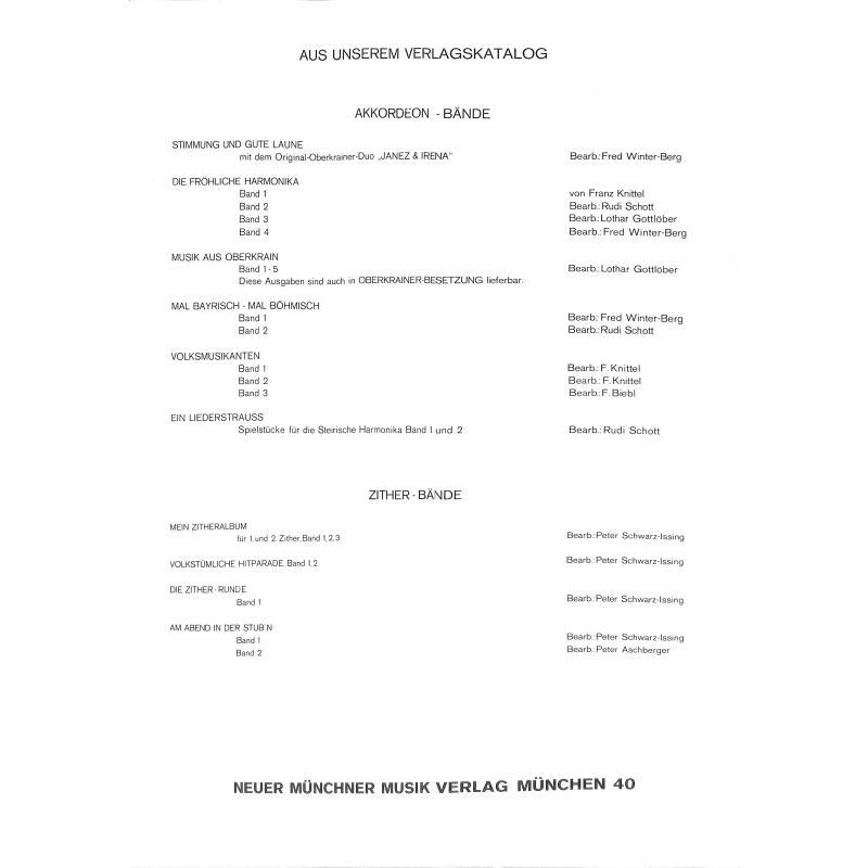 Notenbild für NMV 928 - VOLKSMUSIKANTEN 3