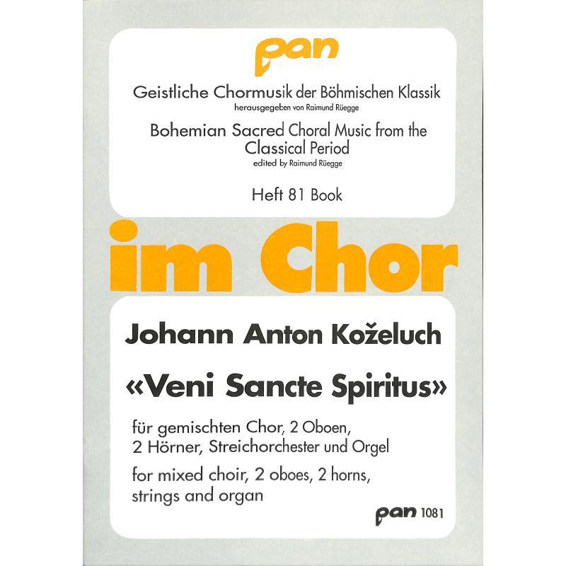 Titelbild für PAN 1081 - VENI SANCTE SPIRITUS