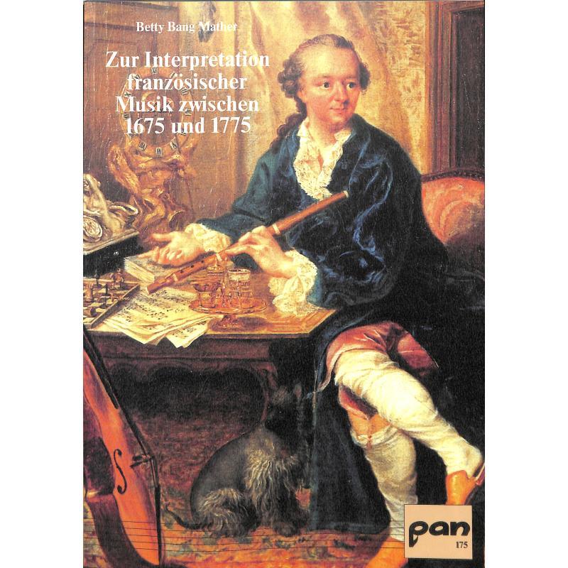 Titelbild für PAN 175 - ZUR INTERPRETATION FRANZOESISCHER MUSIK