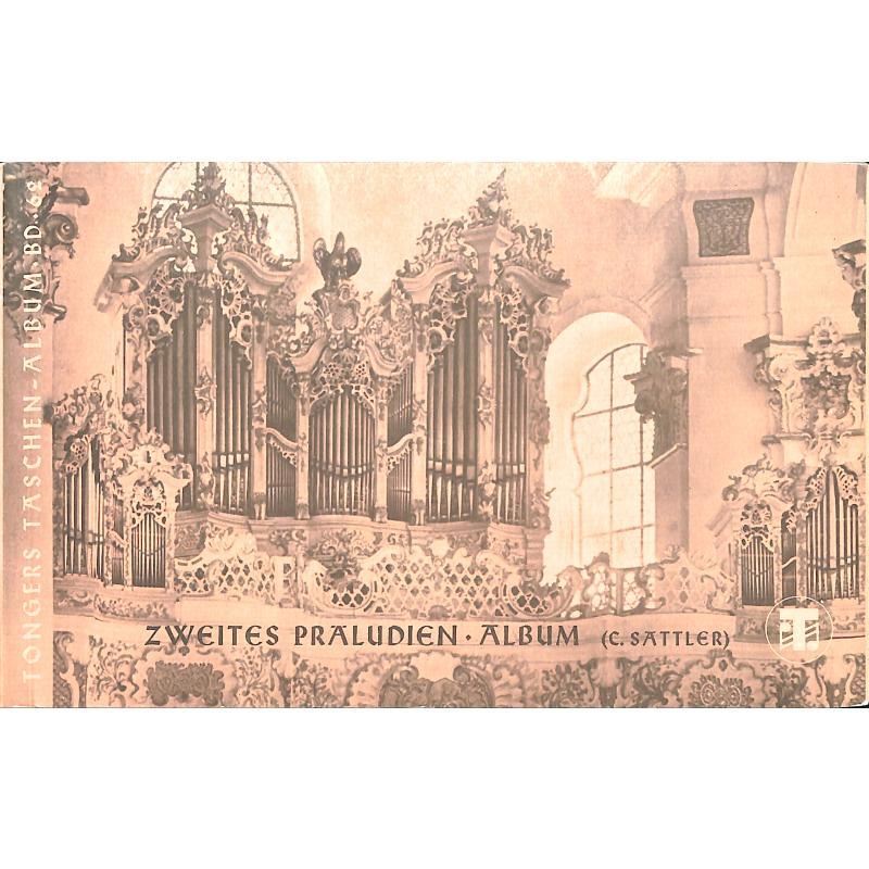 Titelbild für PJT 657-1 - ZWEITES PRAELUDIEN ALBUM